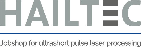 HAILTEC Logo: Jobshop for ultrashort pulse laser processing