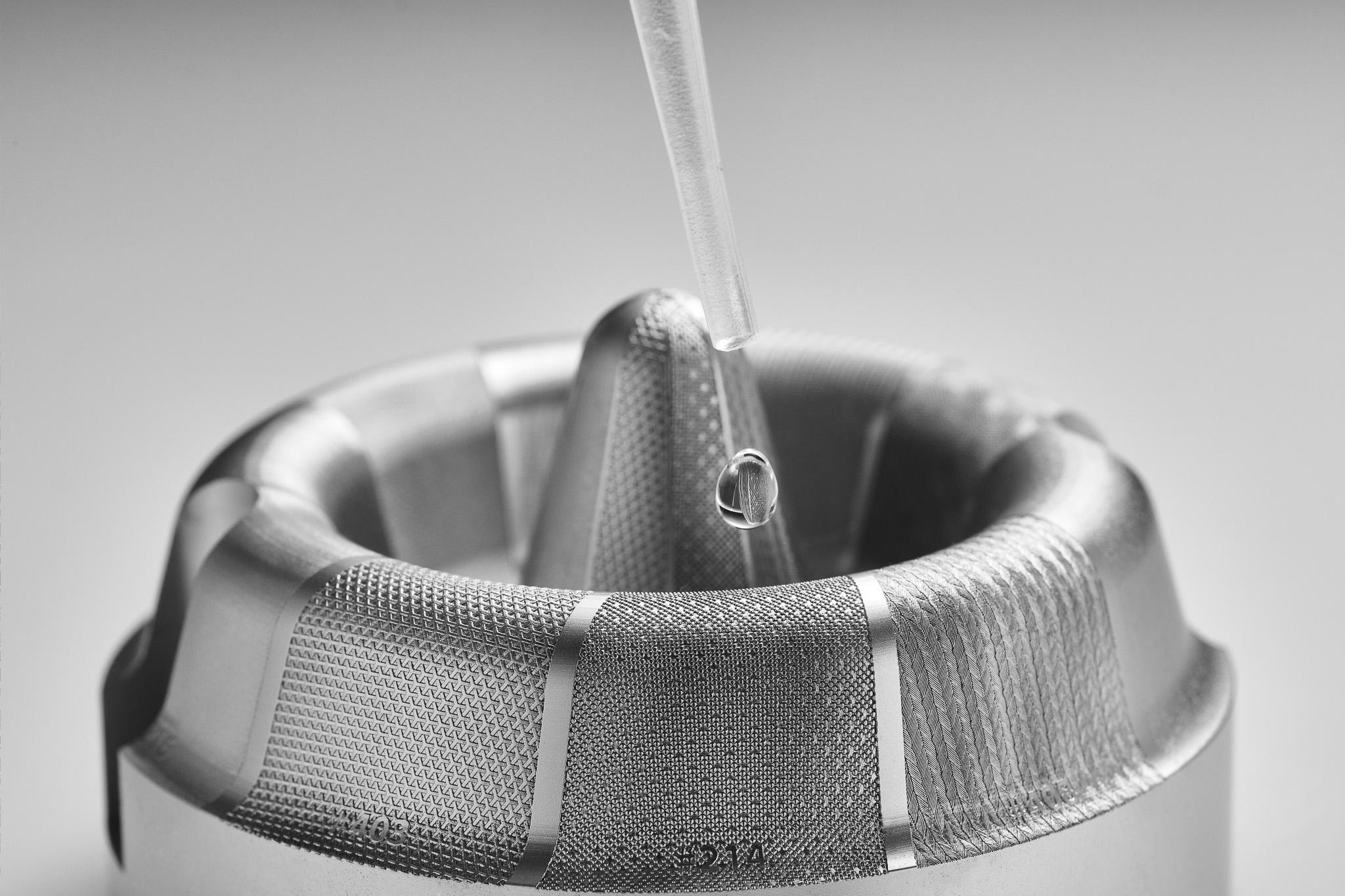 Mikrostrukturierte Oberfläche 3D-Form von HAILTEC